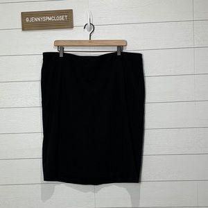 Lane Bryant Black Skirt Size 20